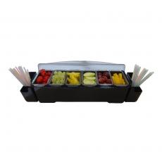 Pojemnik na przyprawy i dodatki głęboki<br />model: BPR-73NW<br />producent: Bar Professional