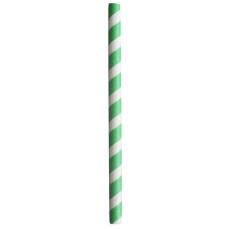 Słomki papierowe zielone<br />model: FF-25G<br />producent: Tom-Gast