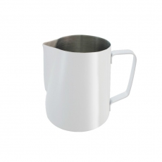 Dzbanek biały do mleka<br />model: C-105-060W<br />producent: Tom-Gast