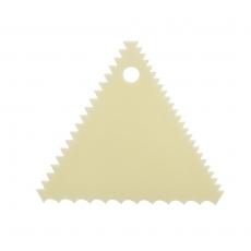 Skrobka ząbkowana trójkątna<br />model: T-22-235<br />producent: Tom-Gast