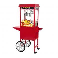 Maszyna do popcornu z wózkiem<br />model: 10010088/W<br />producent: Royal Catering
