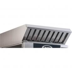 Okap z kondensatorem pary do pieca ChefTop 20 GN 1/1 i BakerTop Unox 16 blach 60x40 cm<br />model: 900268/W<br />producent: Unox