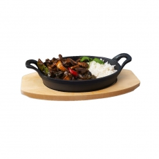 Półmisek żeliwny do serwowania<br />model: 049012<br />producent: Stalgast