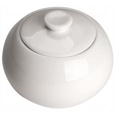 Cukiernica porcelanowa z pokrywą ISABELL<br />model: 388183<br />producent: Stalgast