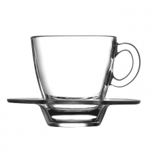 Filiżanka do espresso ze spodkiem<br />model: 400309<br />producent: Pasabahce