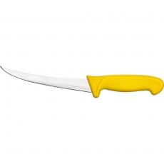 Nóż HACCP do oddzielania kości żółty<br />model: 283125<br />producent: Stalgast