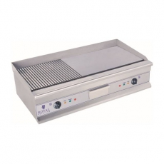 Płyta grillowa elektryczna RCG-100G<br />model: 10010066<br />producent: Royal Catering