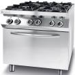 Kuchnia gazowa 4-palnikowa Kitchen Line z piekarnikiem elektrycznym GN 1/1 225882