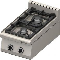 Kuchnia gastronomiczna gazowa 2-palnikowa<br />model: 970513<br />producent: Stalgast