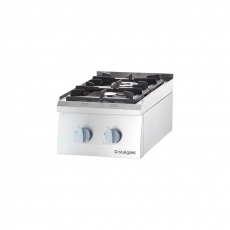 Kuchnia gastronomiczna gazowa 2-palnikowa<br />model: 9705130<br />producent: Stalgast