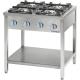 Kuchnia gastronomiczna gazowa 4-palnikowa / model - 999513