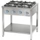 Kuchnia gastronomiczna gazowa 4-palnikowa / model - 999523