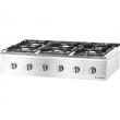 Kuchnia gastronomiczna gazowa 6-palnikowa / model - 9707130