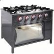 Kuchnia gazowa 4-palnikowa z piekarnikiem gaz. | EGAZ TG-425/PG-1 - TG-425/PG-1