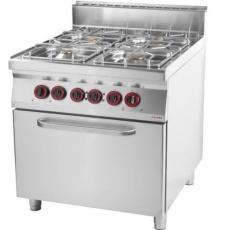 Kuchnia gastronomiczna gazowa z piekarnikiem SPT 90/80 - 11 GE 8<br />model: 00007373<br />producent: Redfox