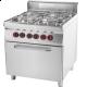 Kuchnia gastronomiczna gazowa z piekarnikiem SPT 90/80 - 11 GE 8