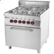 Kuchnia gastronomiczna gazowa z piekarnikiem SPT 90/80 - 21 GE