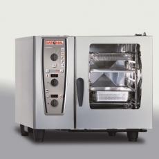 Piec konwekcyjno-parowy elektryczny 6xGN1/1 CombiMaster Plus RATIONAL<br />model: B619100.01.202<br />producent: Rational