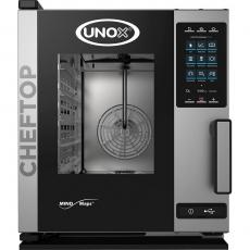 Piec konwekcyjno-parowy elektryczny ChefTop 5 GN 1/1 COMPACT PLUS<br />model: 9000564<br />producent: Unox