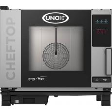 Piec konwekcyjno-parowy elektryczny ChefTop 5 GN 1/1 ONE<br />model: 9000560<br />producent: Unox