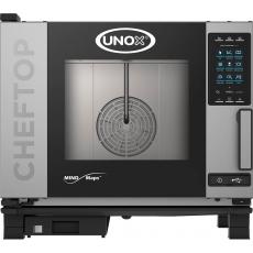 Piec konwekcyjno-parowy elektryczny ChefTop 5 GN 1/1 PLUS<br />model: 9000565<br />producent: Unox