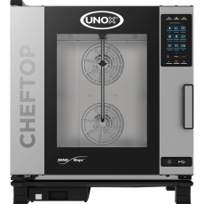 Piec konwekcyjno-parowy gazowy ChefTop 6 GN 2/1 PLUS<br />model: 9010662<br />producent: Unox