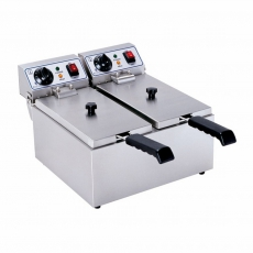 Frytownica 2x 8L<br />model: 10010025<br />producent: Royal Catering