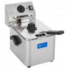 Frytownica elektryczna 8L termostat E.G.O.<br />model: 10010150<br />producent: Royal Catering