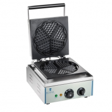 Gofrownica elektryczna RCWM-1500-H<br />model: 10010319<br />producent: Royal Catering