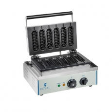 Gofrownica elektryczna RCWM-1500-S<br />model: 10010318<br />producent: Royal Catering