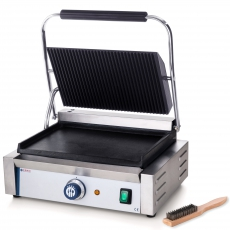 Grill kontaktowy Panini<br />model: 263662<br />producent: Hendi