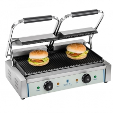 Grill kontaktowy RCKG-3600-G<br />model: 10010246<br />producent: Royal Catering