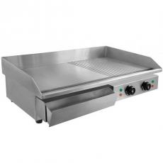 Płyta grillowa elektryczna gładka/ryflowana<br />model: 110100005<br />producent: Soda Pluss