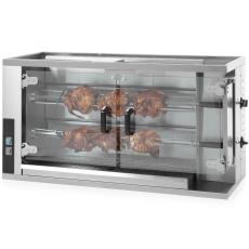 Rożen gazowy do kurczaków wsad 8-10 sztuk<br />model: 226063<br />producent: Hendi