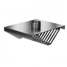 Okap nierdzewny centralny<br />model: E6110/1200/1200<br />producent: ProfiChef