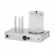 Urządzenie do hot-dogów 3-bolcowe z pojemnikiem  HD-3N