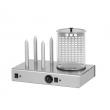 Urządzenie do hot-dogów 4-bolcowe z pojemnikiem  HD-4N
