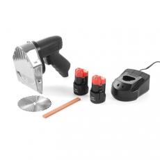 Nóż elektryczny do kebaba bezprzewodowy<br />model: 267257<br />producent: Hendi