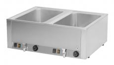 Bemar elektryczny stołowy 2-komorowy z kranem spustowym BMV-2120<br />model: 00000285<br />producent: Redfox