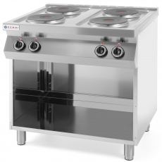 Kuchnia elektryczna 4-płytowa Kitchen Line<br />model: 226223<br />producent: Hendi