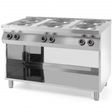 Kuchnia elektryczna 6-płytowa Kitchen Line<br />model: 226230<br />producent: Hendi