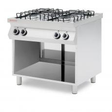 Kuchnia gastronomiczna gazowa 4-palnikowa Revolution<br />model: 226421<br />producent: Revolution