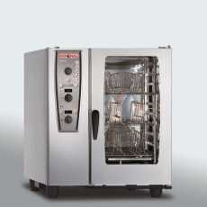 Piec konwekcyjno-parowy elektryczny 10xGN1/1 CombiMaster Plus RATIONAL<br />model: B119100.01.202<br />producent: Rational