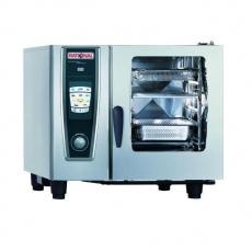 Piec konwekcyjno-parowy elektryczny 6xGN1/1   RATIONAL SCC61E<br />model: B618100.01/W<br />producent: Rational