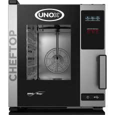 Piec konwekcyjno-parowy elektryczny ChefTop 5 GN 2/3 COMPACT ONE<br />model: 9000561<br />producent: Unox