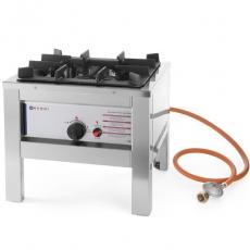 Taboret gastronomiczny gazowy 1-palnikowy Profi Line<br />model: 147108<br />producent: Hendi