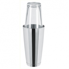 Shaker Boston 0,8 l ze szklanicą<br />model: BPR-800IN<br />producent: Bar Professional