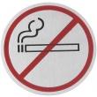 Tabliczka informacyjna samoprzylepna - zakaz palenia 663790