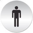 Tabliczka informacyjna samoprzylepna MĘŻCZYŹNI - DH-3901-075