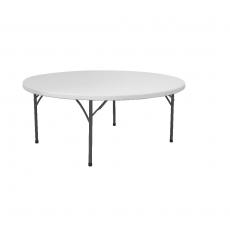 Stół cateringowy okrągły składany<br />model: 810941<br />producent: Fine Dine